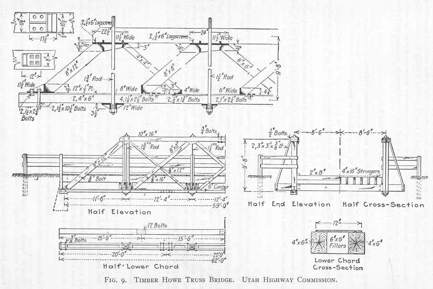 Cvsry Photo Archives Truss Bridge Diagram Information About Warren Bridges Timber Bridge7