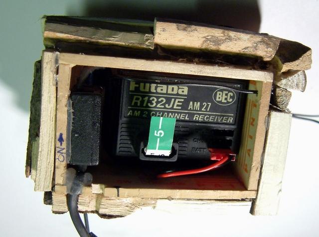 Radio Installed inRadio Box
