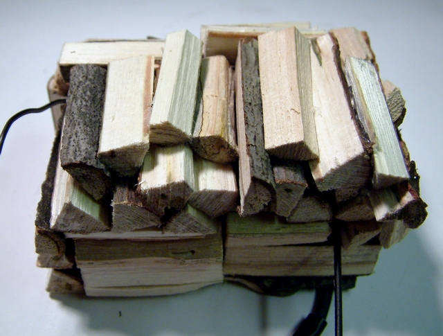 Removable Wood Load